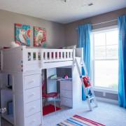 Функциональная мебель в детской
