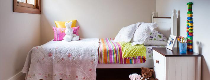 Цветотерапия в детской комнате