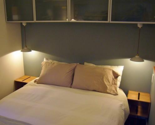 правильно организованное освещение визуально увеличивает пространство