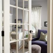 Стекл двери для маленькой комнаты