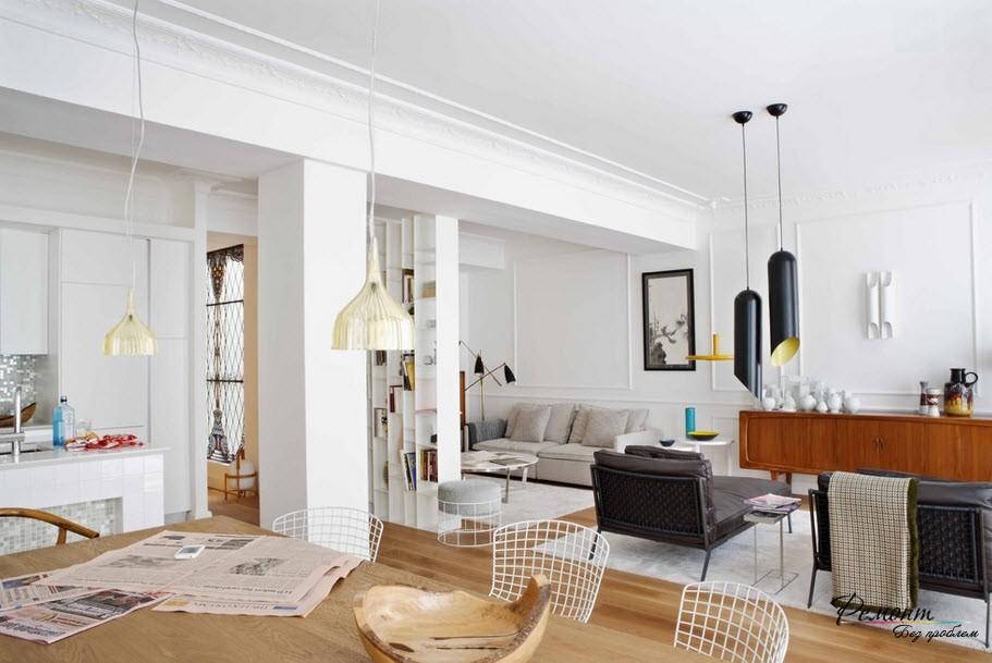 Стильные дизайн квартиры