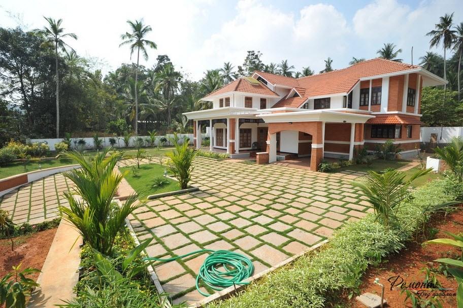 Красный кирпич - неплохой материал для строительства дома