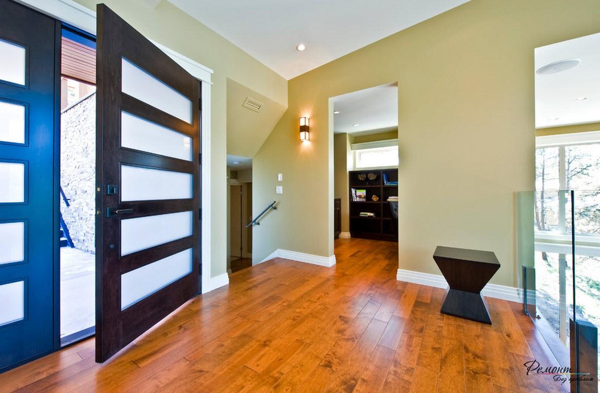 Красивый дизайн внутренней двери