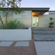 Компактное строение в стиле минимализм