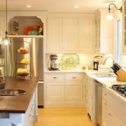 Ниша в кухонной мебели