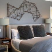 Мебель для серой спальни