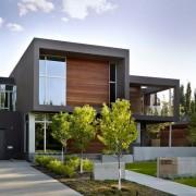 Необычный проект двуъэтажного дома