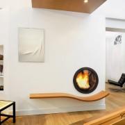 Креативные стороны круглой гостиной