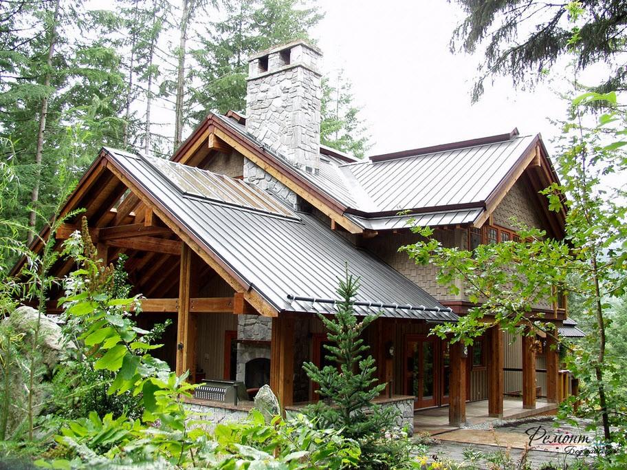 Финские дома: особенности дизайна, внешней отделки и архитектуры на фото