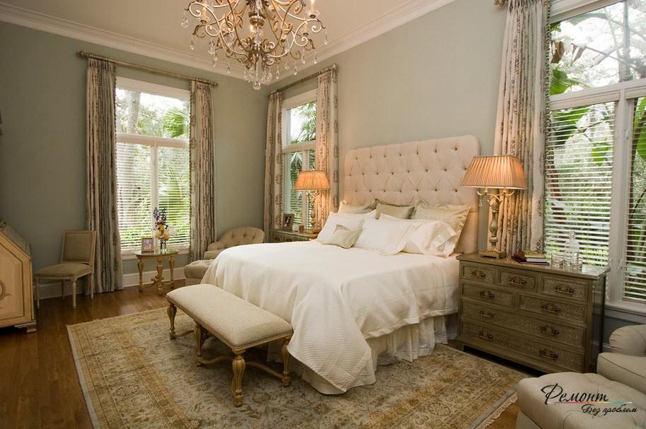 Система иллюминации спальни