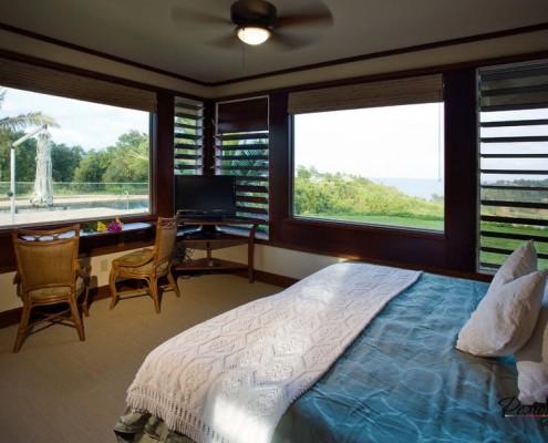 Панорамные окна с жалюзи