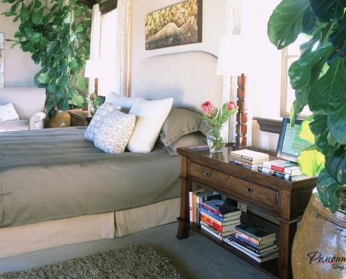Экостиль спальни