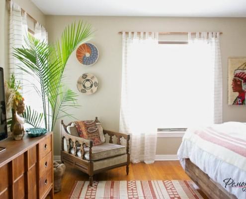 Изящная финиковая (канарская) пальма