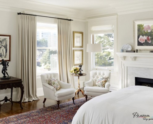 Средства декорирования интерьера спальни