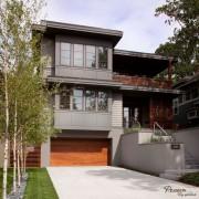 Дизайн небольшого двуъэтажного дома