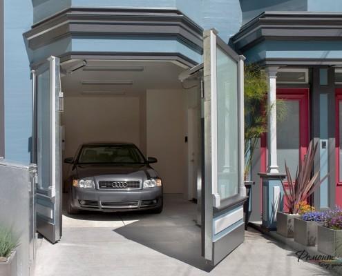 Тайный гараж