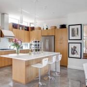 Дорогой мраморный пол для кухни