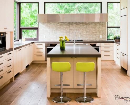 Сегодня дизайн кухни основан на модульной мебели