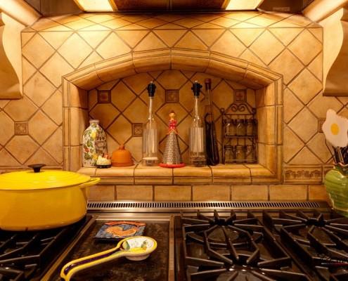 Функциональная ниша на кухне