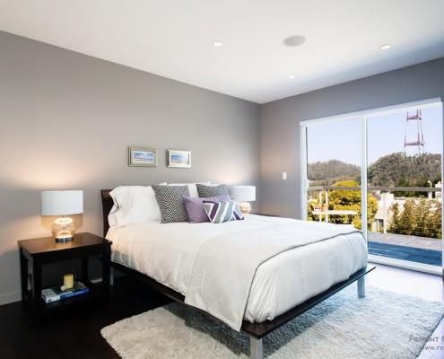 Стильная и уютная спальня