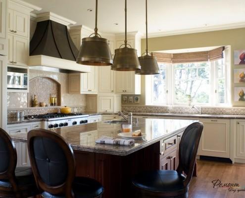 Декоративная ниша на кухне