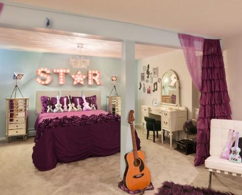 Комната подростка в музыкальном стиле