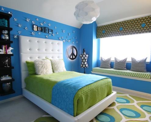Синий цвет символизирует покой и умиротворение