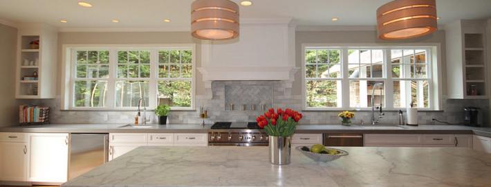 Два окна на кухне – в два раза больше света