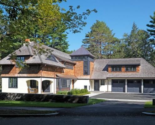 Типичный загородный американский дом