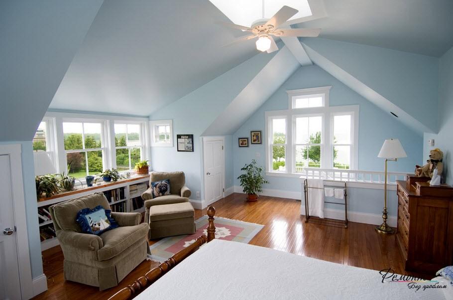 Оформление мансардных окон напрямую зависит от конструктивных особенностей помещения