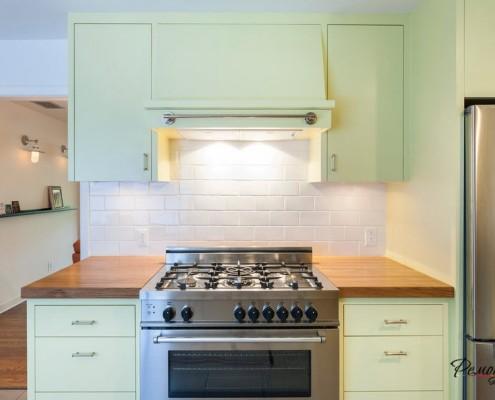 Спрятанная кухонная вытяжка