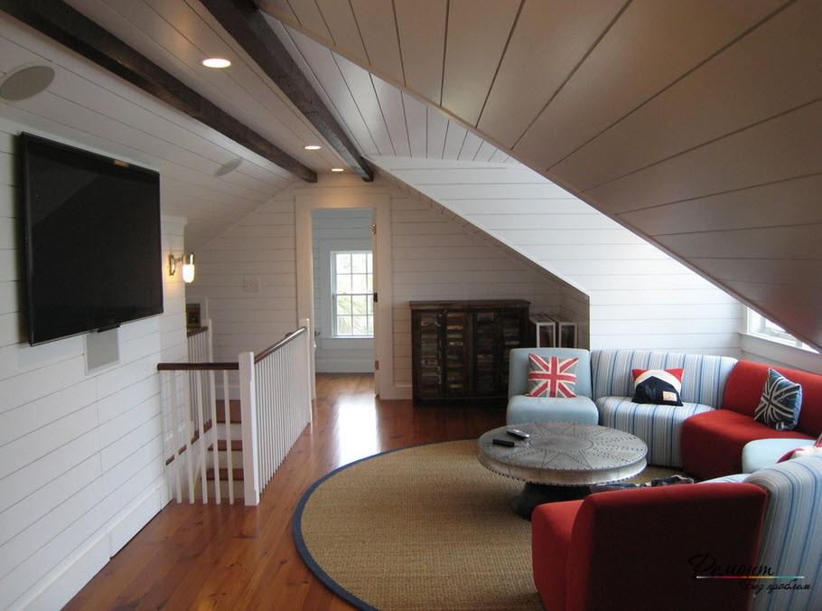 Мансардные помещения имеют свои особенности, как и конструкции окон
