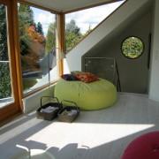 Оригинальный дизайн мансардного окна