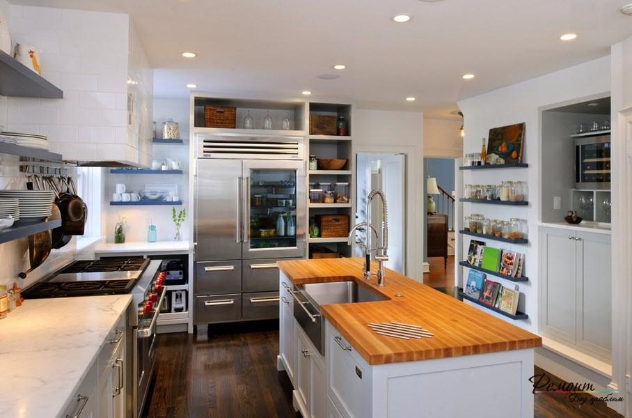 Холодильник из нерзавеющей стали пользуется наибольшей популярностью среди населения