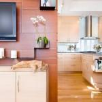 Окно в мир – телевизор на кухне