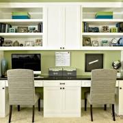 Двойной компьютерный стол