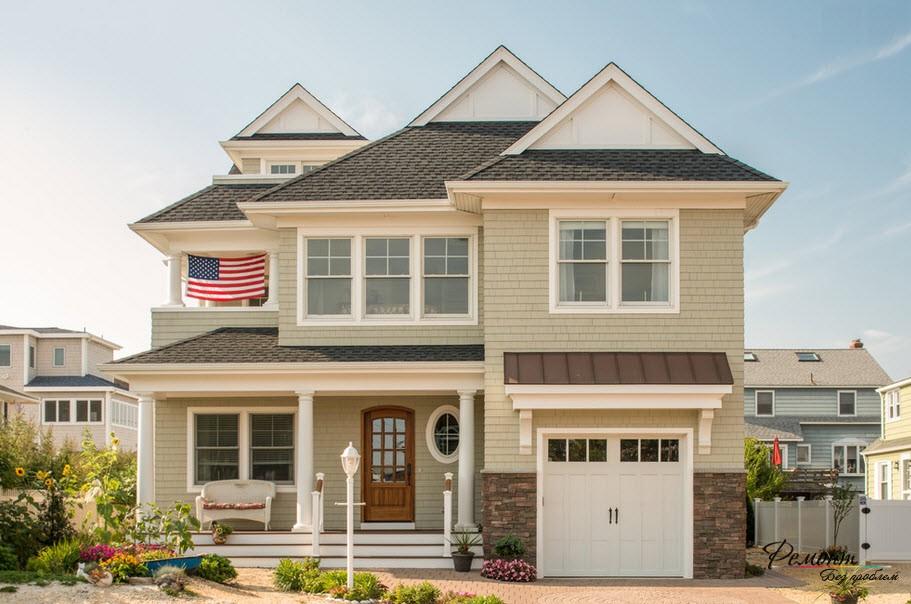 Типичный американский дом