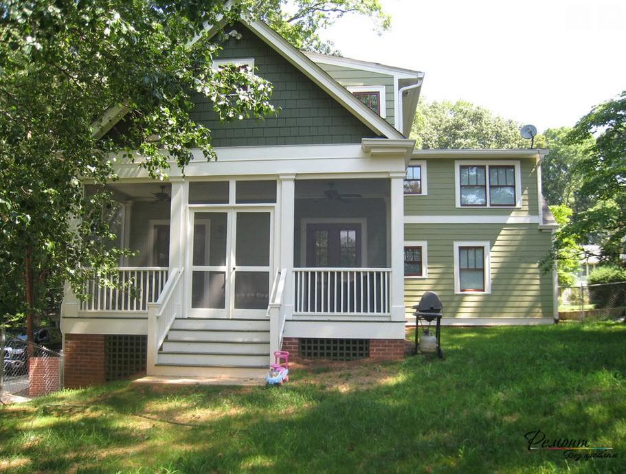 Очаровательный загородный дом