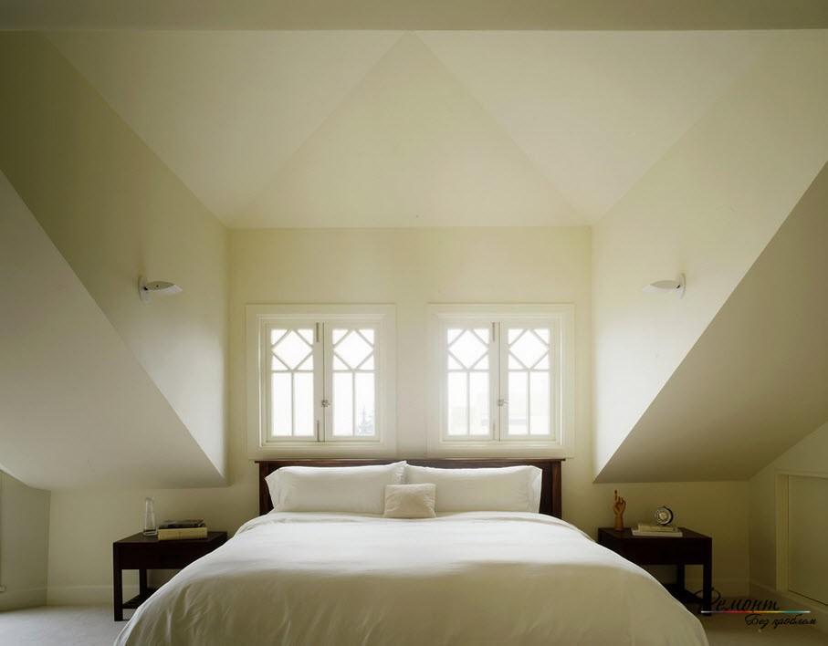 Мансардные помещения могут иметь разнообразную конструкцию, как и окна