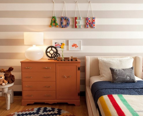 Детская комната в сером стиле