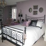 Фиолетовая дымка в вашей спальне
