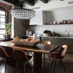 Креативный подход при выборе стульев для кухни