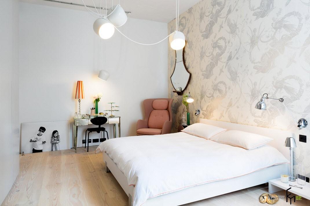 Очарование спальни - лофт