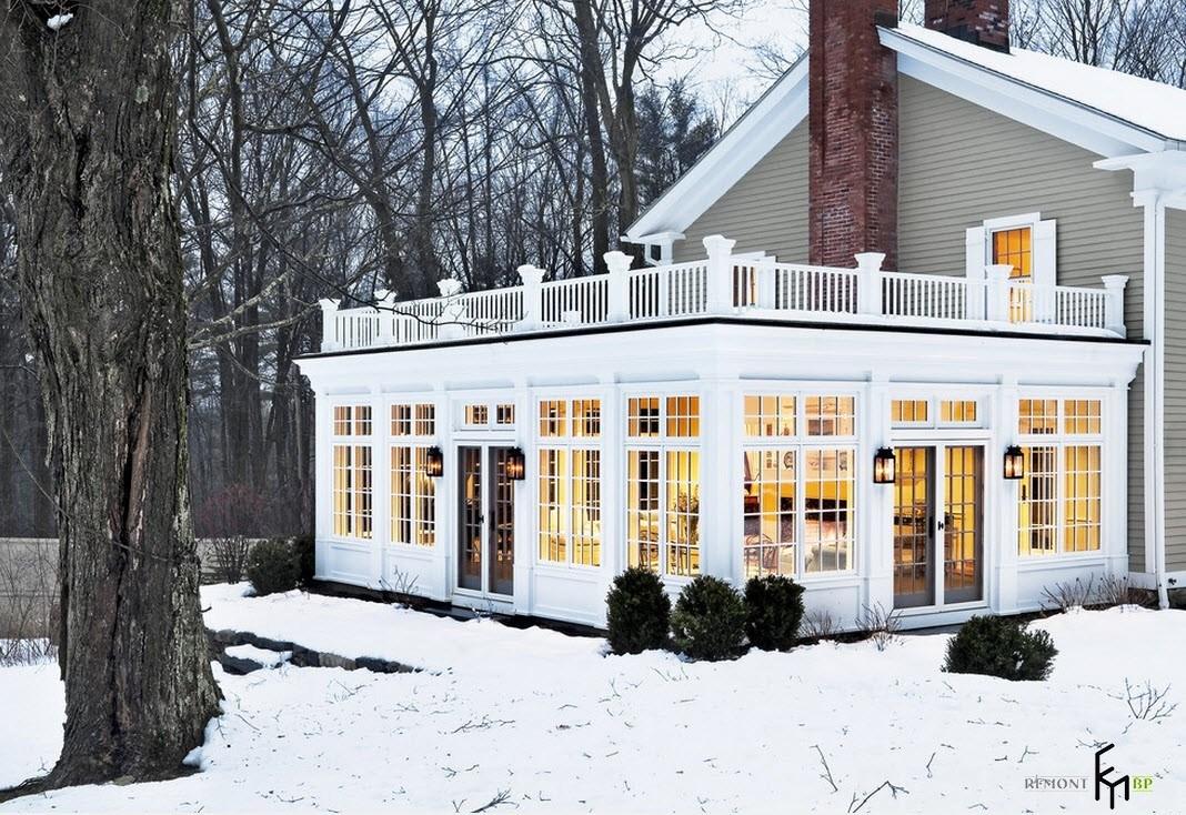 Пристройка к дому на фото, Современные веранды в частных домах