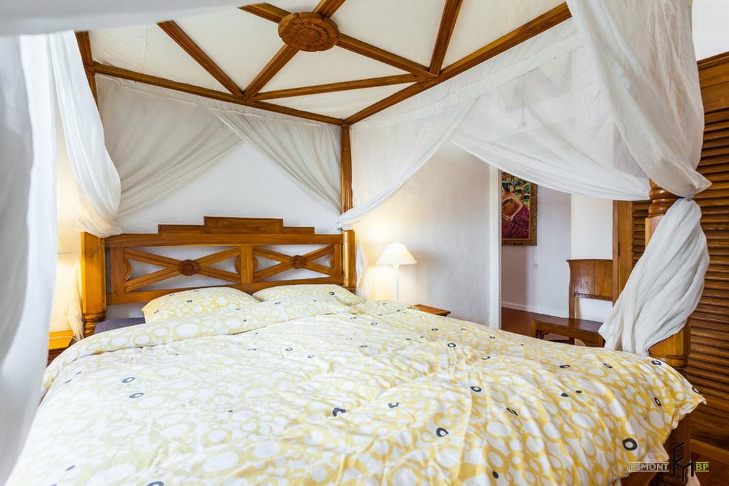Спальня с восточным колоритом