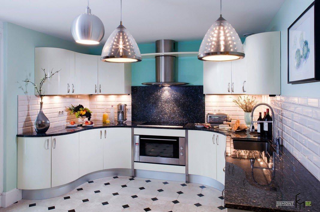 Модерн-стилистика для кухни