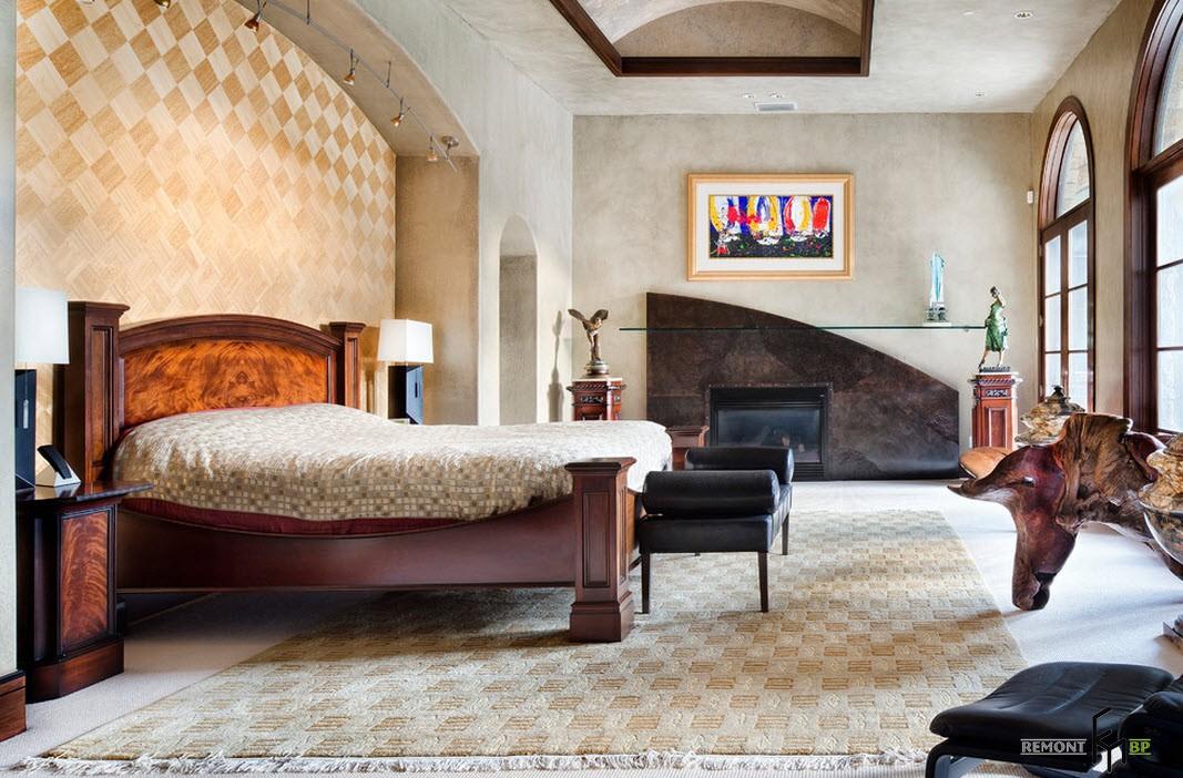 Изысканная плитка на стене
