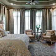 Уютный спальный интерьер