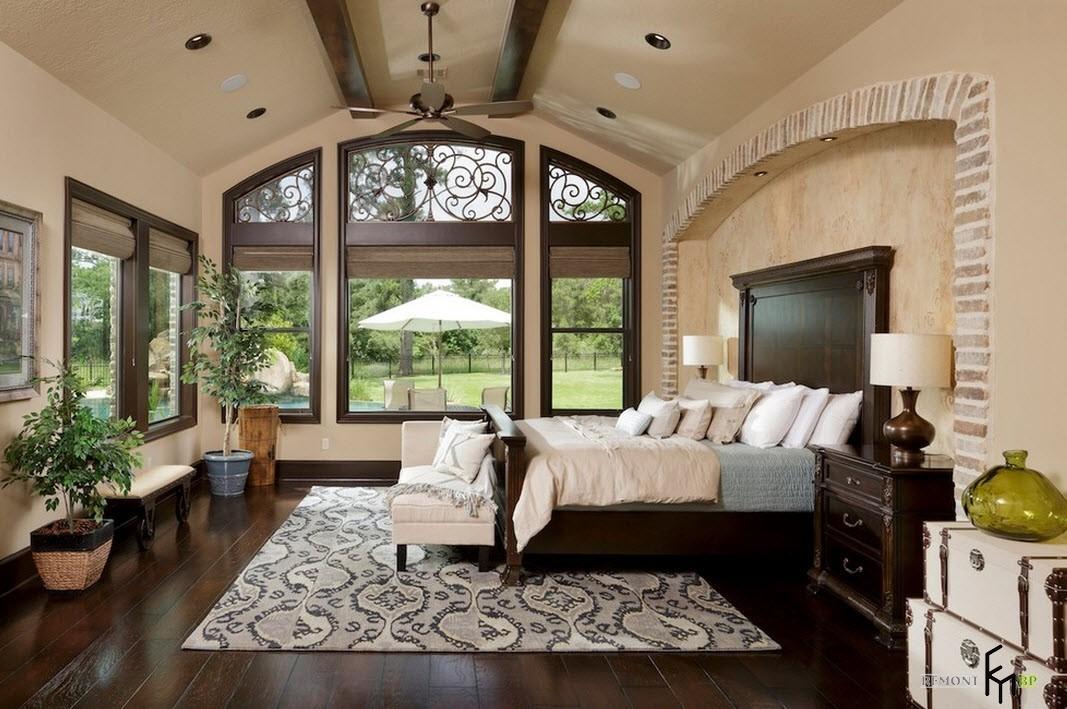 Прекрасный интерьер спальни