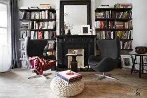 Интерьер парижской квартиры